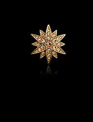 моды декор алмаз небольшой астеризм брошь