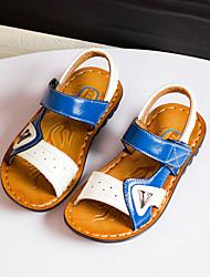 Boys' Shoes Casual Faux Leather Sandals Black / Blue