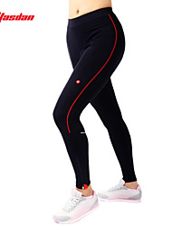 TASDAN® Cycling Pants Women's Breathable / Quick Dry / 3D Pad / Reflective Strips / Sweat-wicking BikePadded Shorts/Chamois /