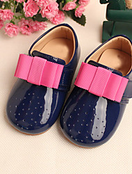 Girls' Shoes Dress Casual Comfort Round Toe Leather Flats Shoes More Colors Available