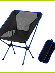 Chair Hiking Beach Picnic Black Blue Aluminium Oxford Ultra Light(UL) Oxford Outdoor Portable Folding Chair Camping Hiking Picnic BBQ