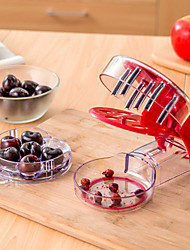 Cherry Pitter Olives Pits Stoner Removal Core Easy Squeeze Grip Kitchen Tool
