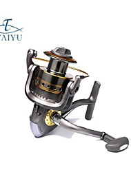 Spinning Reels 5.5:1 6 Ball Bearings ExchangableSea Fishing / Trolling & Boat Fishing / Carp Fishing / Bass Fishing