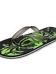 Men's Shoes Casual Rubber Slippers / Flip-Flops Black / Blue / Red