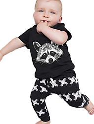 Boy's Cotton Clothing Set,Summer / Spring / Fall