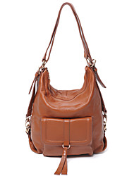 Women Cowhide Sling Bag Shoulder Bag / Tote / Backpack / Mobile Phone Bag / Travel Bag-Beige / Brown / Black