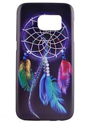 Für Samsung Galaxy S7 Edge Muster Hülle Rückseitenabdeckung Hülle Traumfänger PC Samsung S7 edge / S7