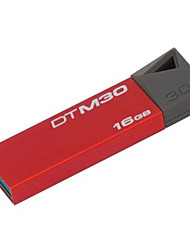 originais kingston dtm30 16gb usb digitais mini-3.0 datatraveler