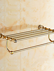 Towel Bar , Neoclassical Antique Copper Wall Mounted