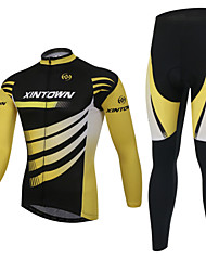 XINTOWN Bike/Cycling Fleece Jackets / Jersey / Jersey + Pants/Jersey+Tights / Clothing Sets/Suits Unisex Long SleeveInsulated / Anti-Fuzz