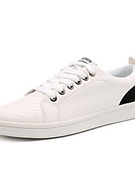 Four Seasons Men's Casual Lace-up Hard-wearing Skateboarding Shoes for Athletic Activities