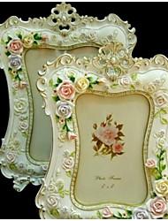 Cornici per foto ( Rosa , Meno di 10 ) - Floreale / Classico