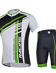 CHEJI® Cycling Jersey with Shorts Men's Short Sleeve BikeBreathable / Quick Dry / Ultraviolet Resistant / Ultra Light Fabric /