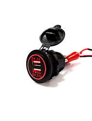 lossmann Auto Double USB Car Charger Waterproof Fashion