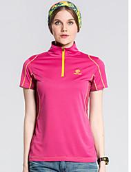 Femme Tee-shirt / Hauts/TopsCamping / Randonnée / Pêche / Sport de détente / Cyclisme/Vélo / Ski de fond / Hors piste / Moto /