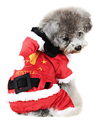 Dog Coat Red Winter Fashion