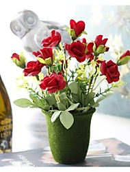 Fleur Artificielle ( Rouge / Rose / Jaune / Violet , Plastique / Polyester ) Jardin