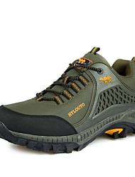 Hiking Shoes Men's Shoes Outdoor//Casual Waterproof Leather Fashion Sport Shoes Khaki/Green/Gray