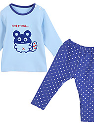 Boy Cotton Clothing Set,All Seasons Long Sleeve