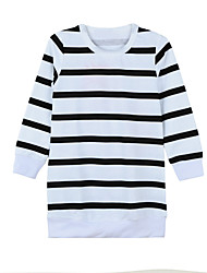 New Girls Kids T-Shirt Top Trousers Pants Stripes Floral Print O Neck Elastic Waistband Cute Casual Children