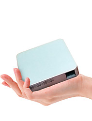 Wireless Dlp Portable Pico Projector for Home Theater with Dual Band Wifi 2.4G/5G