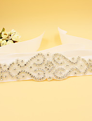 2016 New Satin Wedding / Party/ Evening Sash - Rhinestone / Imitation Pearl Women's Sashes