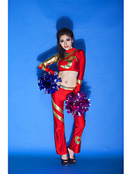 Tenue ( Rouge , Elasthanne , Costumes de Pom-Pom Girl ) Costumes de Pom-Pom Girl - pour Femme