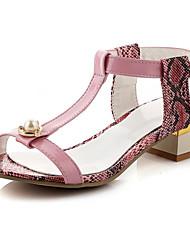 Women's Shoes Heel Heels Heels Outdoor / Office & Career / Casual Pink / White/5114-1