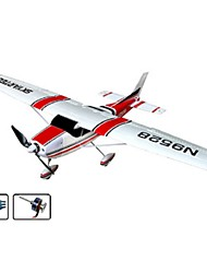 Skyartec rc avião cessna brushless kit arf (ap03-1)