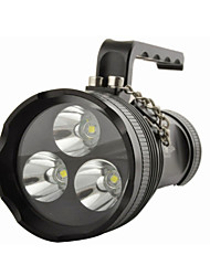 Lights Lanterns & Tent Lights LED 10800 Lumens 4 Mode Cree XM-L2 T6 18650 Waterproof Multifunction Aluminum alloy