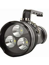 Eclairage Lanternes & Lampes de tente LED 10800 Lumens 4.0 Mode Cree XM-L2 T6 18650 Etanche Multifonction Alliage d'aluminium