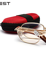 Perents Gifts Fashion Unisex Metal Folding Reading Glasses 8001