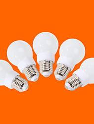 E26/E27 LED Globe Bulbs G60 9 SMD 3528 240 lm Warm White Cool White Decorative AC 220-240 V 5 pcs
