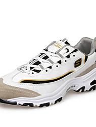 Sapatos Fitness Feminino Preto / Branco / Cinza Courino