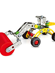 Road Roller Engineering Vehicles  Puzzles Magical Alloy Model DIY Toys Modeling Toys
