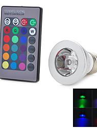 3W E26/E27 Smart LED Glühlampen T 1 Integriertes LED 100-200 lm RGB Dekorativ AC 85-265 V 1 Stück