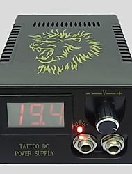 máquina de fornecimento de energia leão tatuagem alta estabilidade