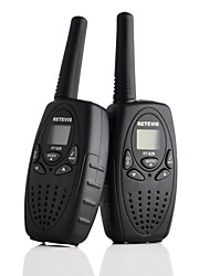 RETEVIS 2 PCS RT628 Walkie Talkie 0.5W UHF USA Frequency 462-467MHz Two-Way Radio