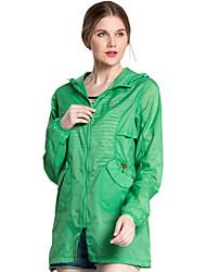 Senderismo Chaqueta / Paravientos / Tops MujerImpermeable / Transpirable / Resistente a los UV / Secado rápido / Listo para vestir /