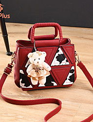 M.Plus® Women's Fashion PU Leather Messenger Shoulder Bag/Tote