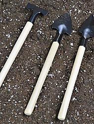 outils de jardinage à la maison trois ensembles de bonsaï de plantes charnues