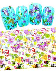 Мультипликация / Цветы / Милый - Фольга зачистки ленты - Пальцы рук / Пальцы ног - 100cmx4cm - 5PCS - Прочее