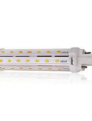 13W G24 Ampoules Maïs LED T 44PCS SMD 5730 100LM/W lm Blanc Chaud / Blanc Naturel Décorative AC 85-265 V 1 pièce