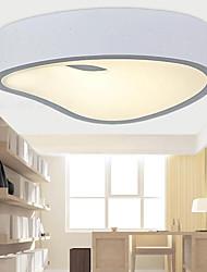 Pendant Lights 1 Light Modern White Metal and Acrylic