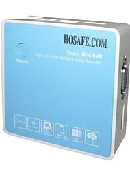 hosafe ™ mini-nvr8 ONVIF sortie mini HDMI / VGA 8ch caméra 1080p IP du DVR 720p nvr