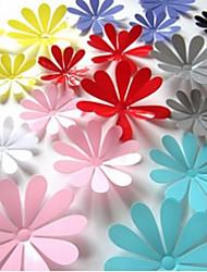 Botanique Stickers muraux Stickers muraux 3D Stickers muraux décoratifs Matériel Amovible Décoration d'intérieur Calque Mural