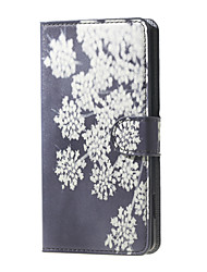 For DOOGEE Case Card Holder / with Stand / Flip / Pattern Case Full Body Case Flower Hard PU Leather DOOGEE