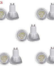 10pcs HRY® 3W GU10 350LM Warm/Cool White Color Light LED Spot Lights(85-265V)