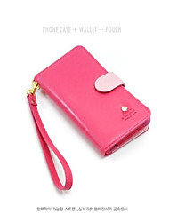 Luxury PU Leather Case For Samsung Galaxy S3 i9300 Mobile Phone Wallet Case With Card Holder StandJFF0529012