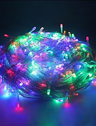 King Ro 100LED 8 Mode Holiday Light Christmas Decoration Waterproof String Light(KL0006-RGB,White,Warm White)